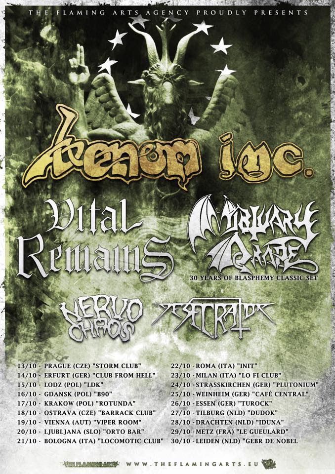 Venom Inc. 2016 European Tour
